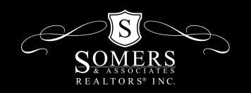 Somers Logo White on Black